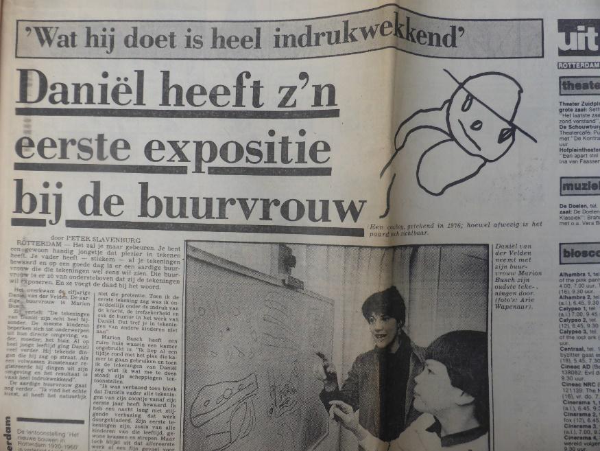 Daniël van der Velden in het AD