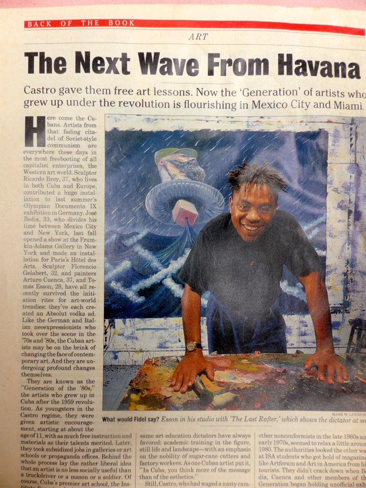 Newsweek 1993 - Arturo Cuenca