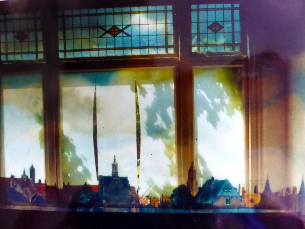 Peter Verhaar-Gezicht op Delft