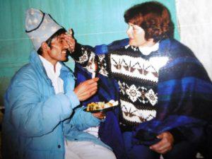 De Nepal connectie, Marion Busch