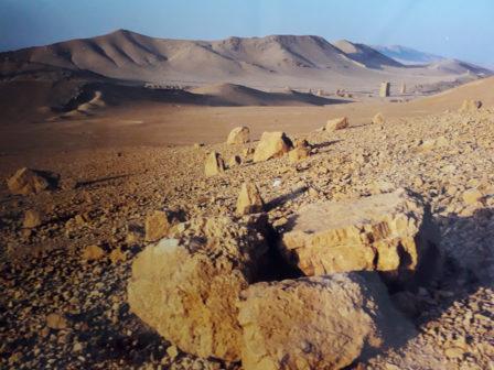 Graftombes Palmyra, © Marion Busch Photography